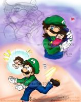 Mario: Precious Bundle of Joy1 by saiiko