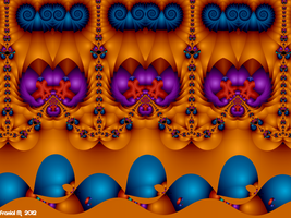 Vintage Psychedelic Pattern by fraxialmadness3
