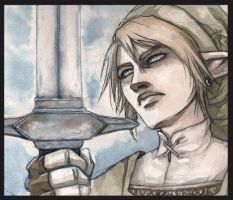 Link by Obsidiurne-Morgil