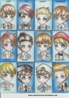 ..::EXO Growl::.. by aoko-chanprincess