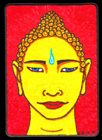 Buddha ACEO 17 by Siobhan68