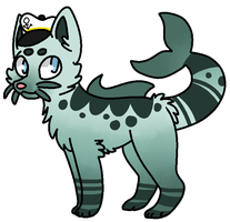 -CLOSED- Fish Cat Auction by AmayaAdoptions