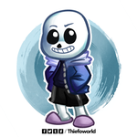 Sans by Thiefoworld