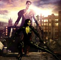 DmC Dante And Claire by EpitaphOfTwilightCe