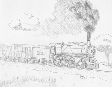 Local Freight by Locomotive-a-Vapeur