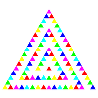 Triangle Art 11-23-2015 by 10binary