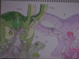 The Land Before Time - 2 by tejedora