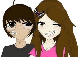 Me and alex by co-nay