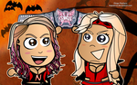 Natalya and Beth Wallpaper by kapaeme