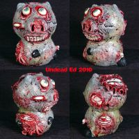 Zombie Piggy Bank SPLITS by Undead-Art