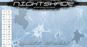 Nightshade glass cracks v2 by Niteshader