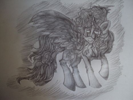 Traditional:The new style of my drawing by Kristik--Gold