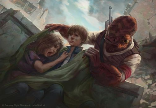 Star Wars: Age of Rebellion - Early Recruitment by AnthonyFoti