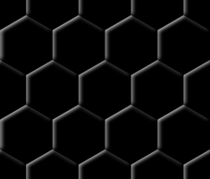 Hexagon Pattern by Xyotic