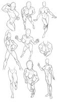 Sketchbook Figure Studies 2 by Bambs79