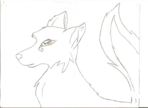 Erick The wolf by gothicwolf4life