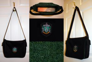 New Style Slytherin Bag by Groovygirlsuzy17
