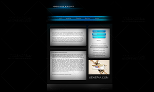 Coding Front Portfolio Templat by TRAEMORE