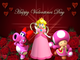 Super Mario - Happy Valentine's Day 2012 by Legend-tony980