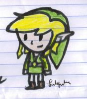 Toon Link Sketch by Fab-912
