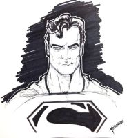 10 minute Superman by stourangeau