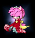 Amy Rose with Kimono by BlackBy