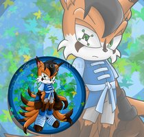 Renard Divinus the Nine-tailed Fox by Zephyros-Phoenix
