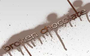 Broken Chocolate by Del11boy