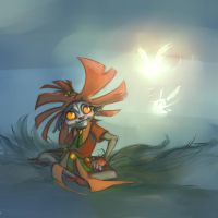 The Skull Kid by MostTraumatic