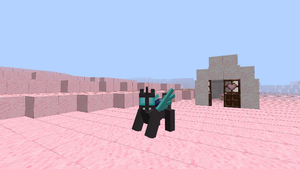 Minecraft MLP Mod- Changeling Skin by Chomp-n-Bomb
