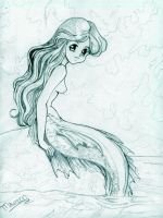Mermaid Blues by trifrog