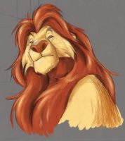 Mufasa coloured by CYLex