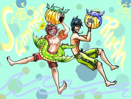 Summer Rush (Rory and Aaron) pt2 by ArachRoy
