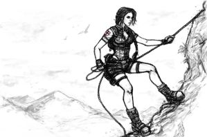 Lara Croft and the Horns of ZulQarnain by J3ckyll