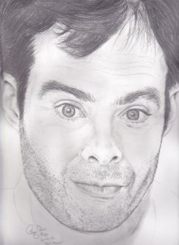 Bill Hader by ScreamAndSugarArt