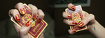 gryffindor water marbling by shelle-chii