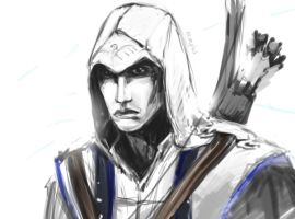 Connor Kenway by Felicecore