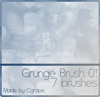 Grunge Brushes by cgrape