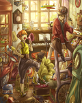 Antique shop by Cygnetzzz