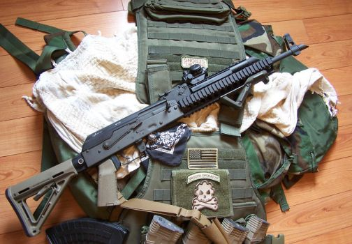 MagPul'd Kalash by Steam-Pirate
