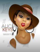 alicia keys by braeonArt