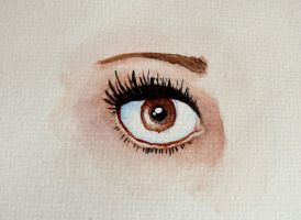 Eye Study III by death-of-roots