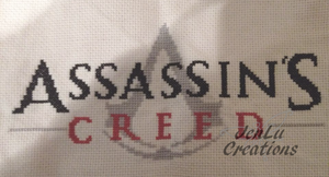 Assassin's Creed Cross Stitch by jenlucreations