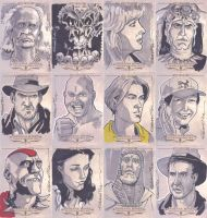 Indiana Jones Masterpieces by pungang