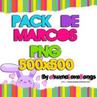 pack de marcos png tipo papel by akumaLoveSongs