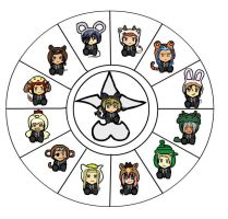 Org.XIII Chinese Zodiac by DaShortQuiet1