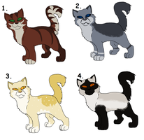 ~Free Cat Adopts for Watchers~ by Sukida-Adopts