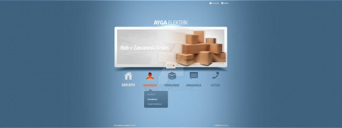 Electric Company Website by snmsnl