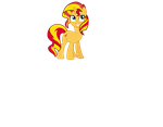 Cute Sunset Shimmer by shaynelleLPS