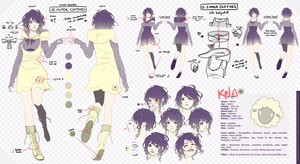 KPLA - First character sheet by E-Mika-Zg